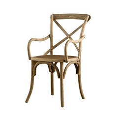 "Стул ""Wicker Arm Side Chair"" Gramercy"
