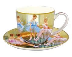 "Чашка с блюдцем ""Балерины у зеркала"" Carmani"