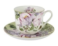 """Чашка с блюдцем """"Райский сад"""" Anna Lafarg Stechcol"""
