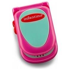 Развивающая игрушка Infantino розовый телефон (506-504)