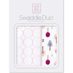 Набор пеленок SwaddleDesigns Swaddle Duo PP Cute and Wild (SD-184PP)