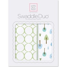 Набор пеленок SwaddleDesigns Swaddle Duo KW Cute and Wild (SD-184KW)