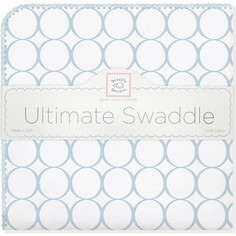 Фланелевая пеленка SwaddleDesigns для новорожденного Ultimate Blue Mod on WH (SD-022PB)