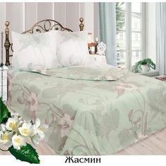 Комплект постельного белья Сова и Жаворонок 1,5 сп, бязь, Жасмин, n70