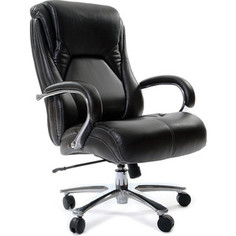 Офисное кресло Chairman 402, PU черное