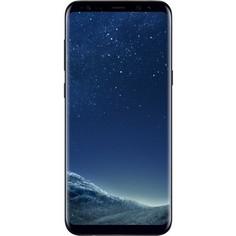 Смартфон Samsung Galaxy S8+ SM-G955F 64Gb чёрный бриллиант