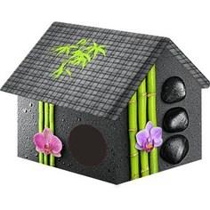 Домик PerseiLine Дизайн Бамбук для кошек и собак 33*33*40 см (00067/ДМД-1)