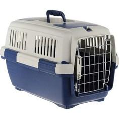 Переноска Marchioro TORTUGA 3 сине-бежевая 64x43x43h см для животных
