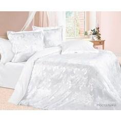 Комплект постельного белья Ecotex Семейный, сатин-жаккард, Ностальжи(КЭДНостальжи)