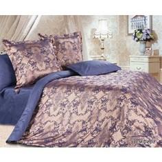 Комплект постельного белья Ecotex Евро, сатин-жаккард, Земфира(КЭЕЗемфира)