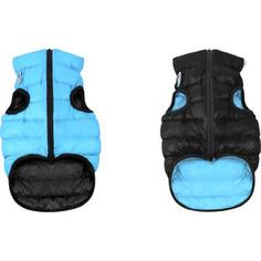 Курточка CoLLaR AiryVest двухсторонняя черно-голубая размер L 65 для собак (1639)