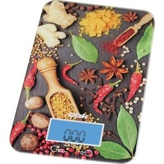 Кухонные весы BBK KS 106 G (черн/крас)