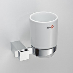 Стакан (керамика) Schein Durer (263C-R) хром