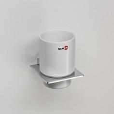 Стакан (керамика) Schein Swing (323C) хром