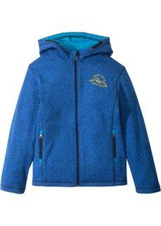 Флисовая куртка (темно-синий меланж) Bonprix