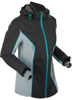 Куртка для активного отдыха, в комплекте сумка для упаковки (черный) Bonprix