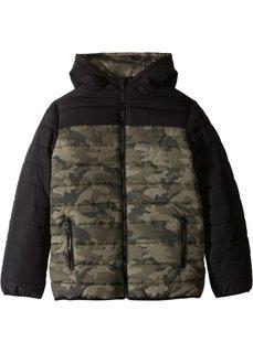 Куртка с камуфляжным принтом (камуфляжный/черный) Bonprix