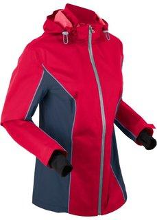 Куртка для активного отдыха, в комплекте сумка для упаковки (темно-красный) Bonprix