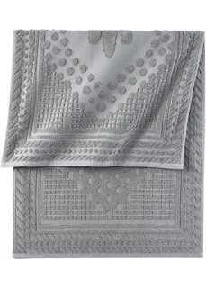 Полотенце Клара (серый) Bonprix