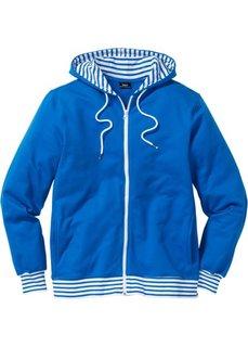 Трикотажная куртка Regular Fit (лазурный) Bonprix