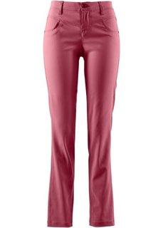 Прямые брюки стретч (бордовый) Bonprix