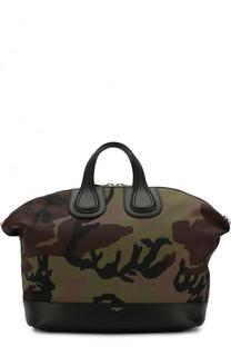 Текстильная дорожная сумка Nightingale с плечевым ремнем Givenchy