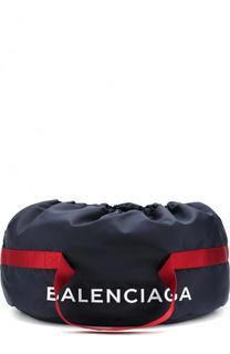 Текстильная спортивная сумка Wheel с логотипом бренда Balenciaga