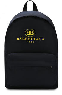Текстильный рюкзак Explorer с логотипом бренда Balenciaga
