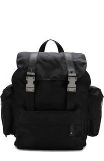 Текстильный рюкзак Valentino Garavani с камуфляжным принтом Valentino