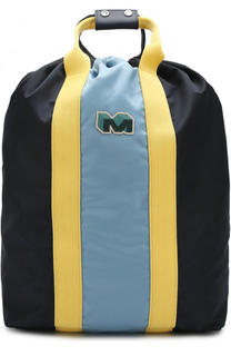 Текстильный рюкзак-шоппер Marni