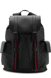 Рюкзак GG Supreme с клапаном Gucci