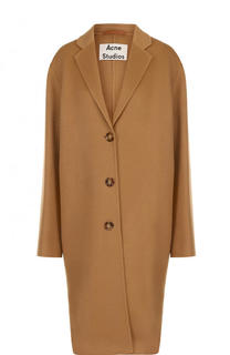 Пальто свободного кроя из смеси шерсти и кашемира Acne Studios