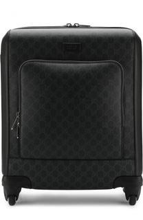 Дорожный чемодан GG Supreme на колесиках Gucci