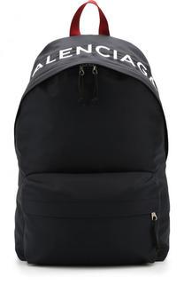 Текстильный рюкзак Wheel с логотипом бренда Balenciaga