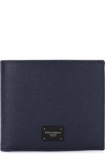 Кожаное портмоне с отделениями для кредитных карт Dolce & Gabbana