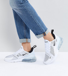 Белые кроссовки Nike Air Max 270 - Белый