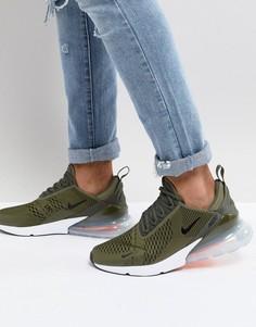 Зеленые кроссовки Nike Air Max 270 AH8050-201 - Черный