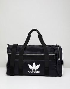 Черная сумка дафл adidas Originals adicolor CW0618 - Черный