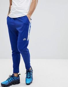 Синие узкие джоггеры Nike Tribute 861652-455 - Синий