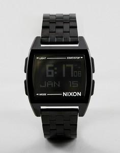 Черные электронные наручные часы Nixon A1107 - Черный