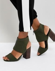 Босоножки на каблуке ASOS TYLA - Зеленый