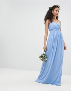 Платье макси бандо TFNC - Синий