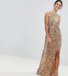 Платье макси A Star Is Born - Золотой