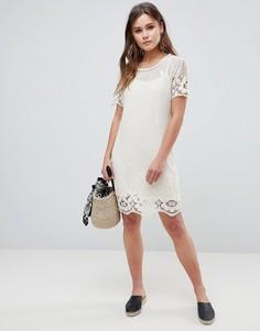 Платье из кружева кроше Bellfield Larsa - Белый