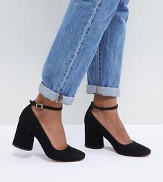 Туфли на каблуке ASOS DESIGN Shortbread - Черный