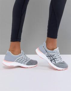 Серо-розовые кроссовки Asics Running Gel Exalt - Мульти