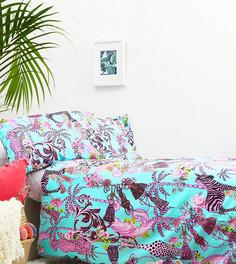 Комплект из одеяла и подушек с принтом Hashtag - Мульти