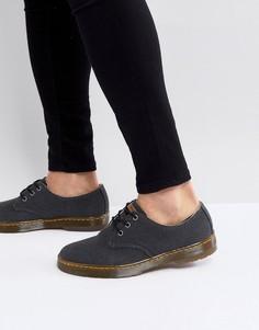 Туфли из прочной парусины Dr.Martens Delray - Черный