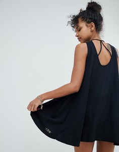 Трикотажное пляжное платье Billabong - Черный