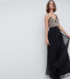 Платье макси на бретелях Needle & Thread - Серый